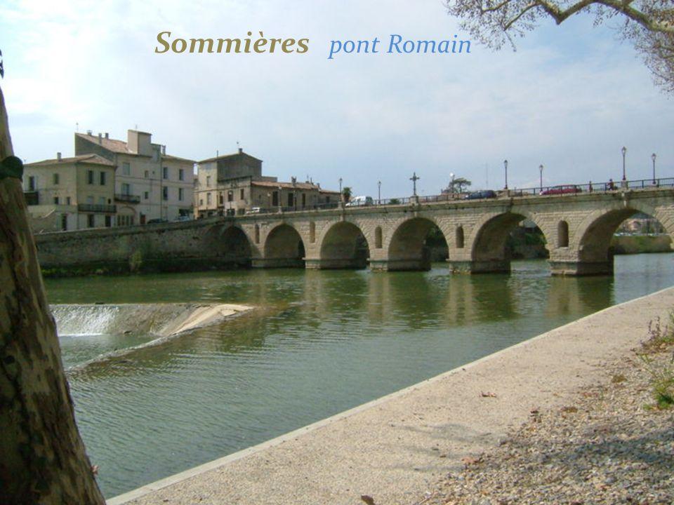 Sommières pont Romain