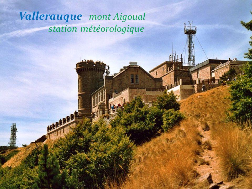 Vallerauque mont Aigoual . station météorologique