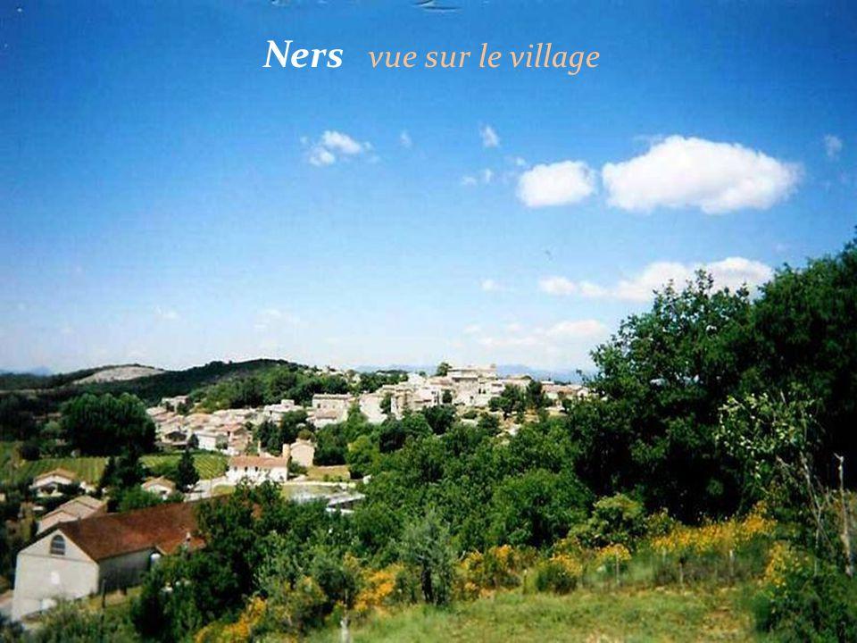 Ners vue sur le village