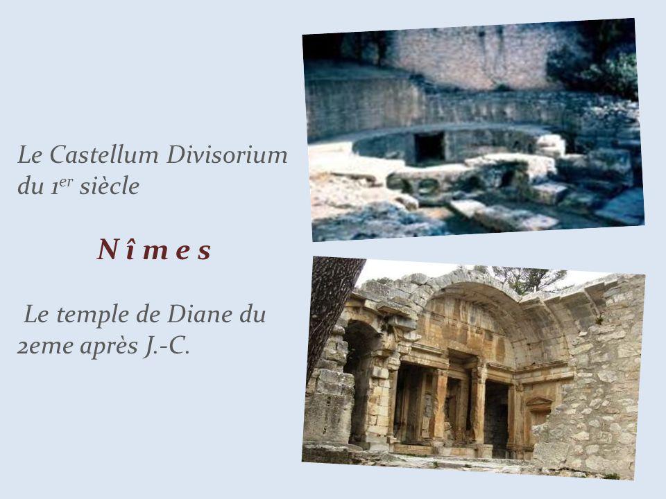 Le Castellum Divisorium du 1er siècle. N î m e s