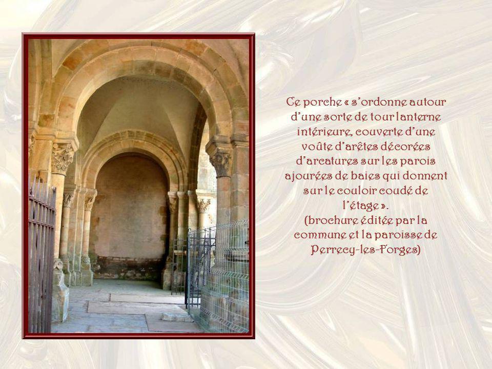 (brochure éditée par la commune et la paroisse de Perrecy-les-Forges)