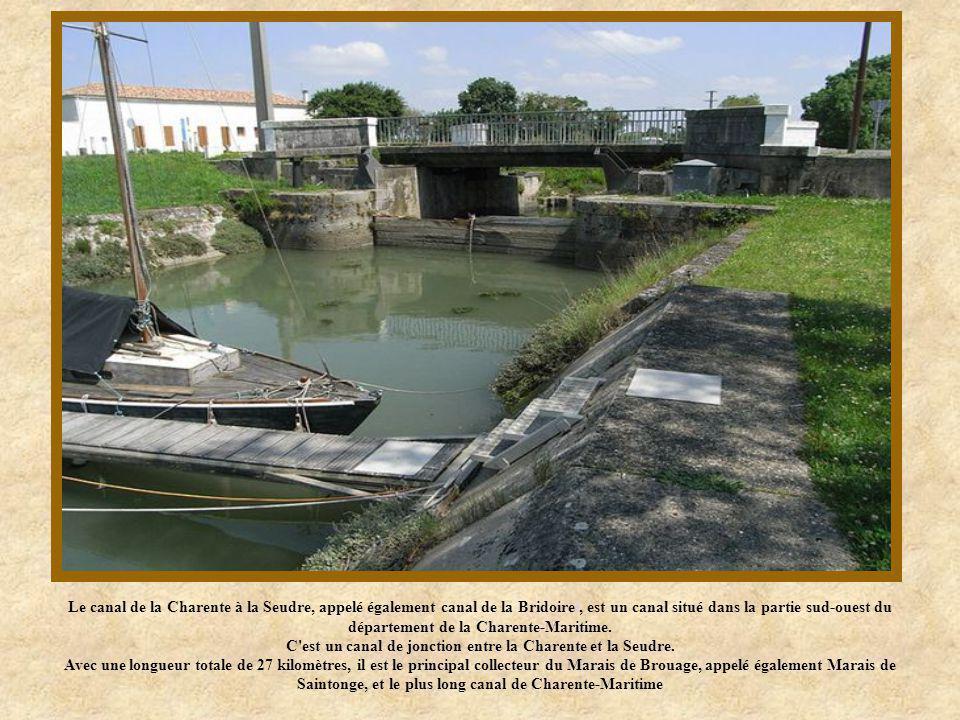 C est un canal de jonction entre la Charente et la Seudre.