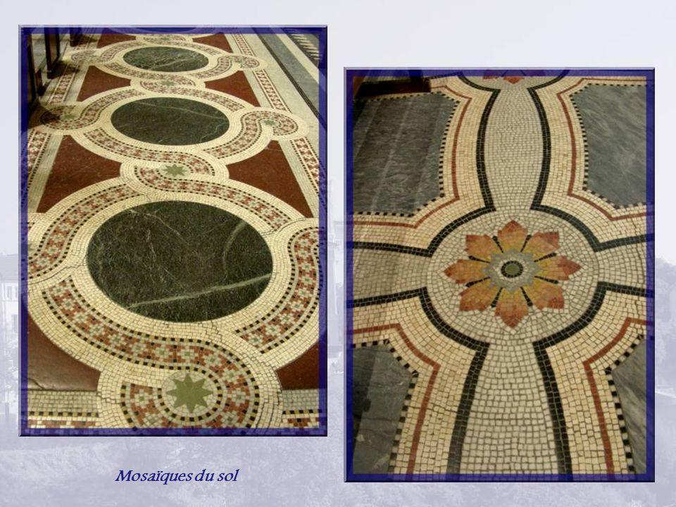 Mosaïques du sol