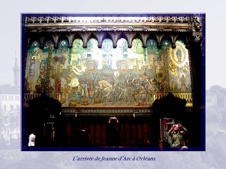 L'arrivée de Jeanne d'Arc à Orléans.