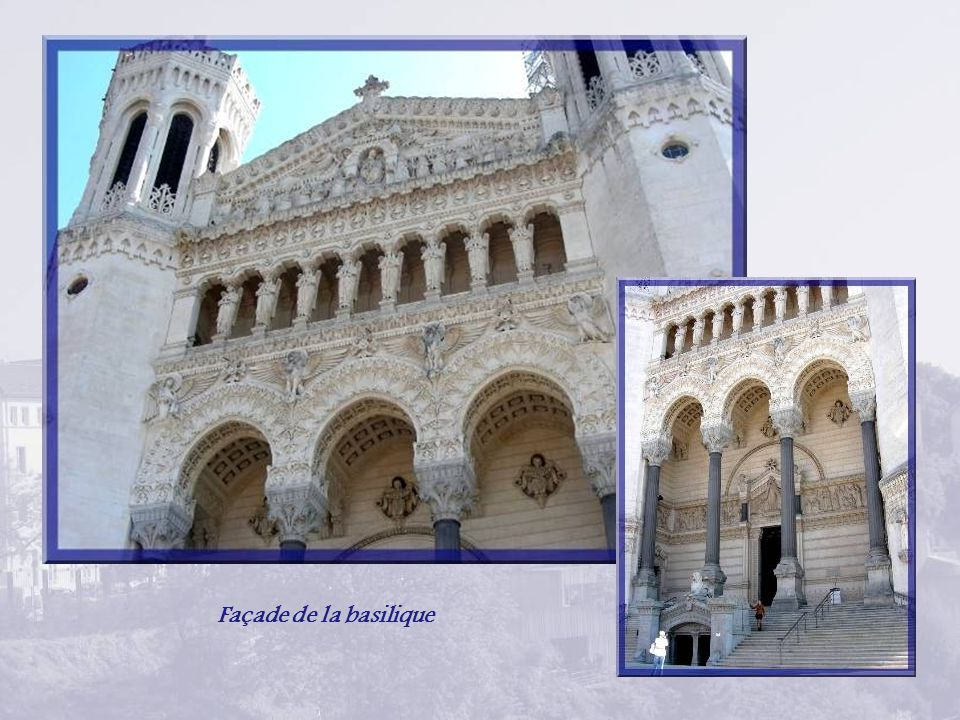 Façade de la basilique