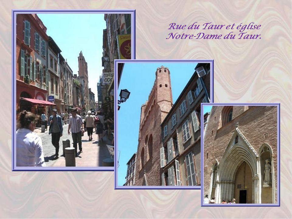 Rue du Taur et église Notre-Dame du Taur.