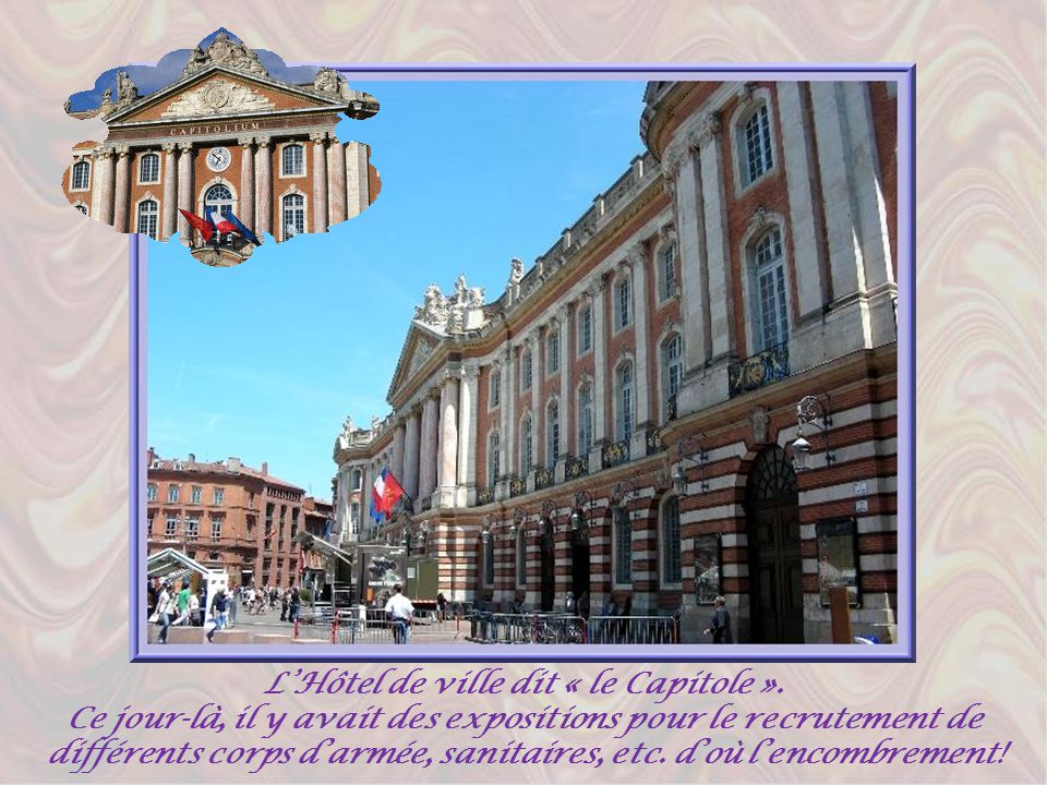 L'Hôtel de ville dit « le Capitole ».