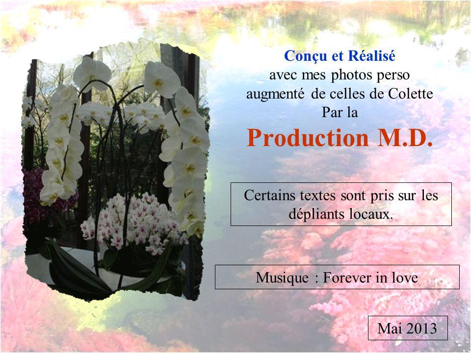 Production M.D. Conçu et Réalisé avec mes photos perso