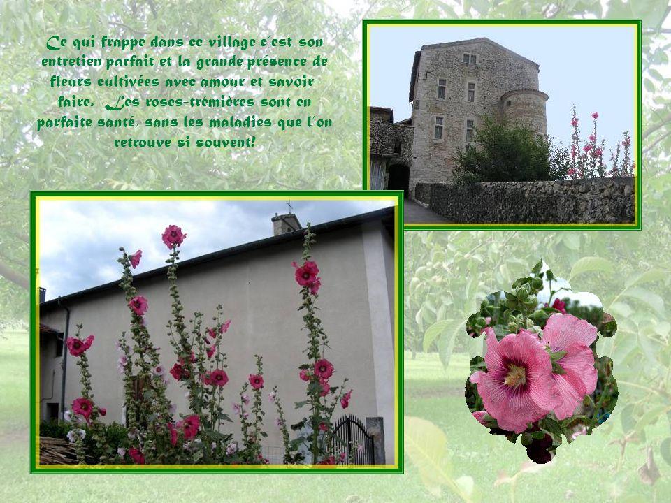 Ce qui frappe dans ce village c'est son entretien parfait et la grande présence de fleurs cultivées avec amour et savoir-faire.