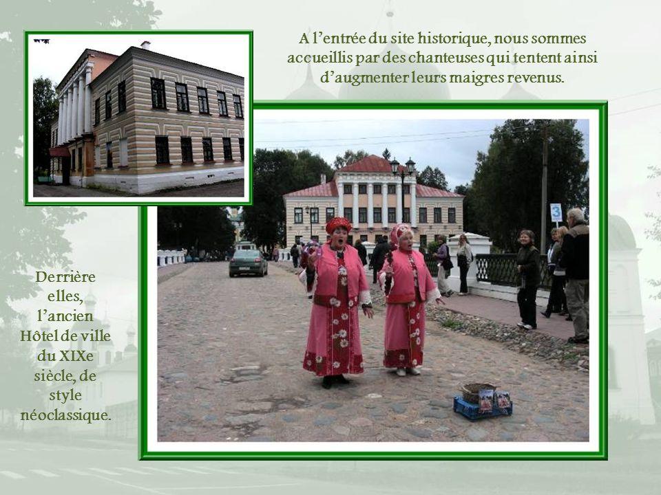 A l'entrée du site historique, nous sommes accueillis par des chanteuses qui tentent ainsi d'augmenter leurs maigres revenus.