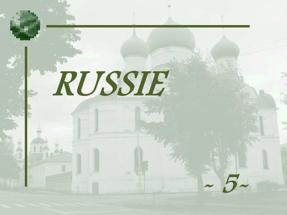 RUSSIE - 5-