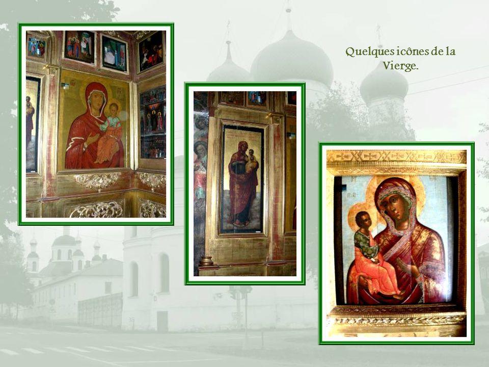 Quelques icônes de la Vierge.