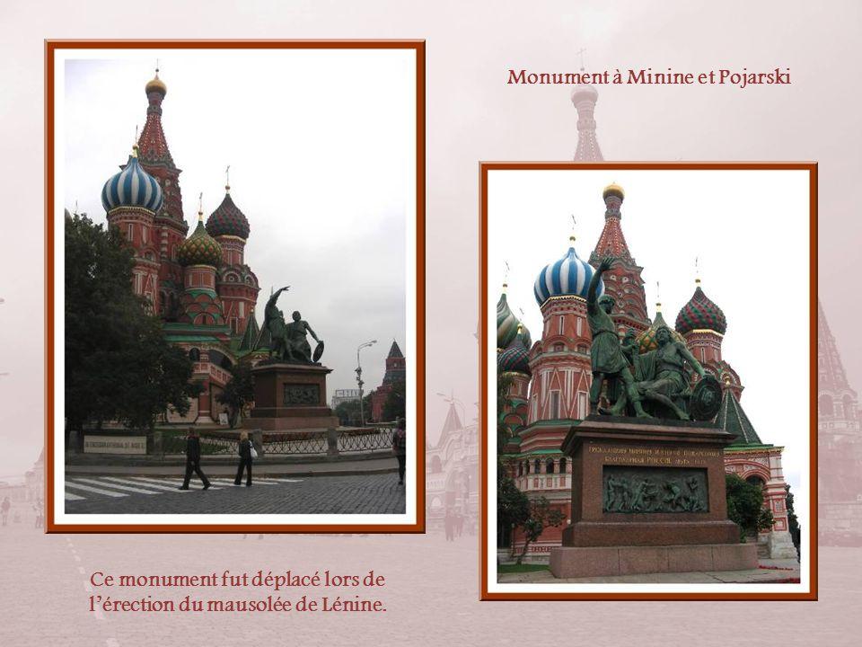 Monument à Minine et Pojarski