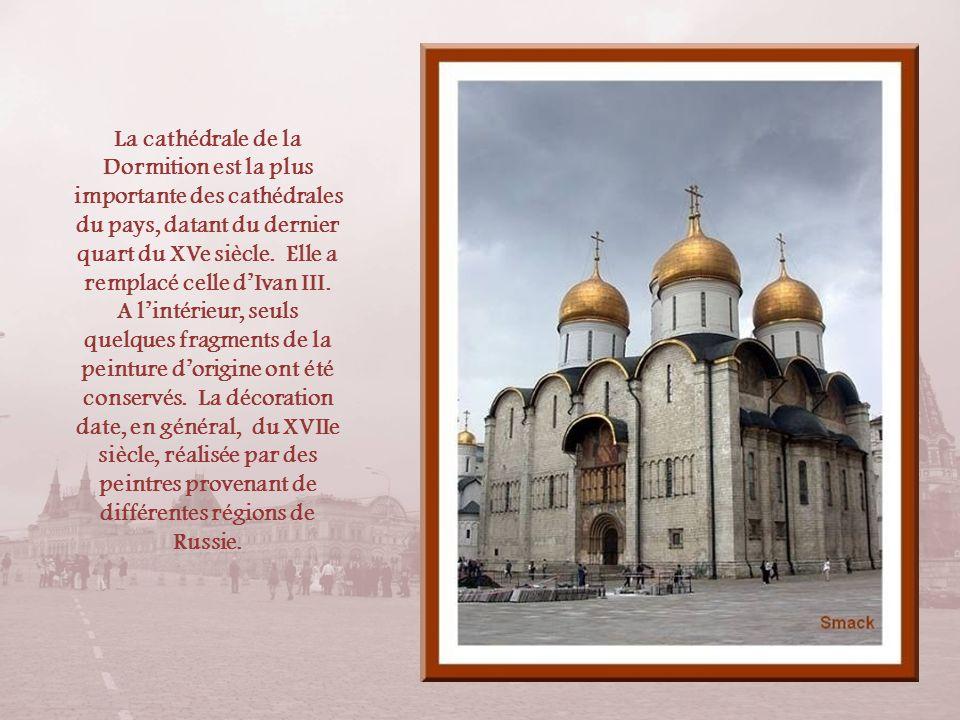 La cathédrale de la Dormition est la plus importante des cathédrales du pays, datant du dernier quart du XVe siècle.