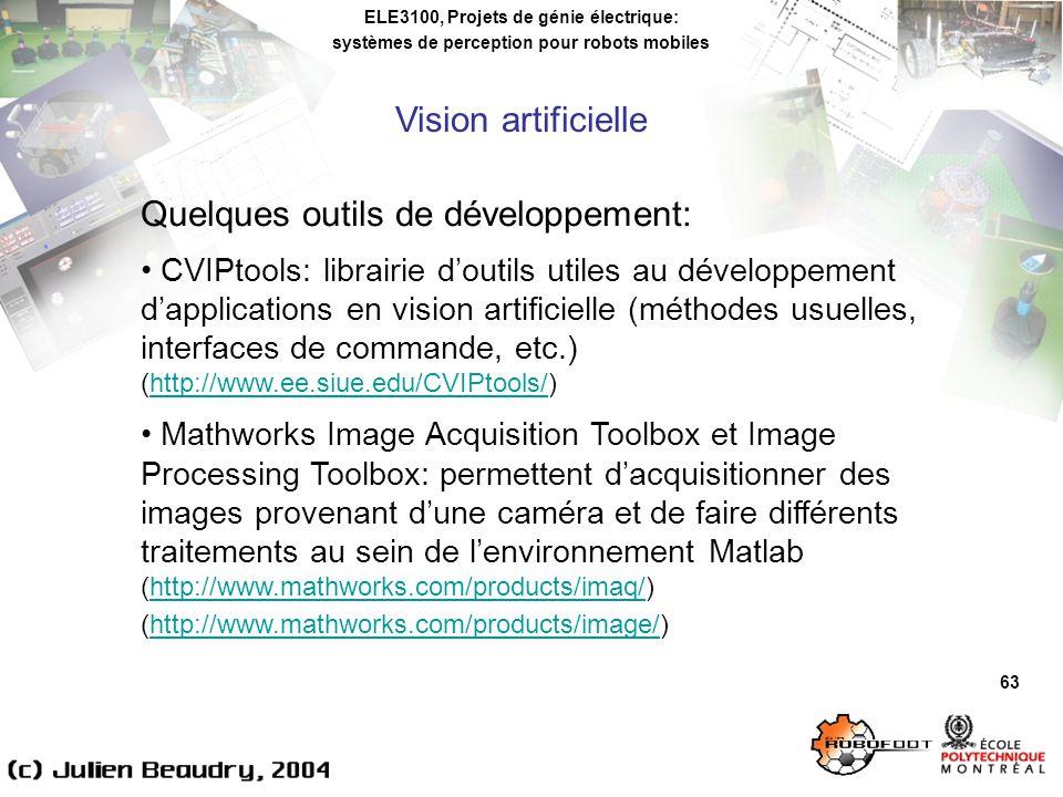 Quelques outils de développement:
