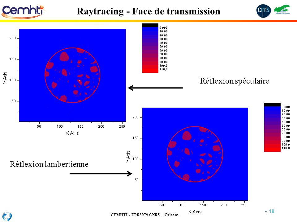 Raytracing - Face de transmission
