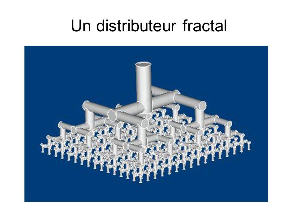 Un distributeur fractal