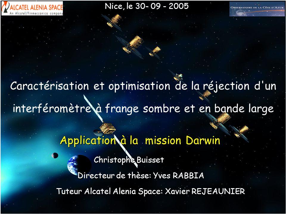 Tuteur Alcatel Alenia Space: Xavier REJEAUNIER