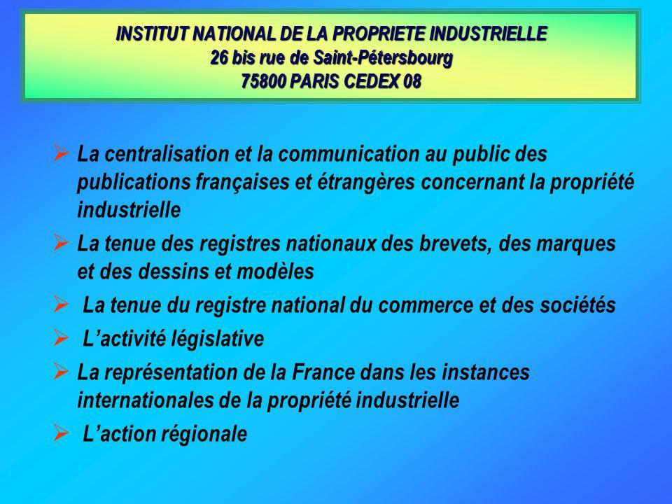 La tenue du registre national du commerce et des sociétés