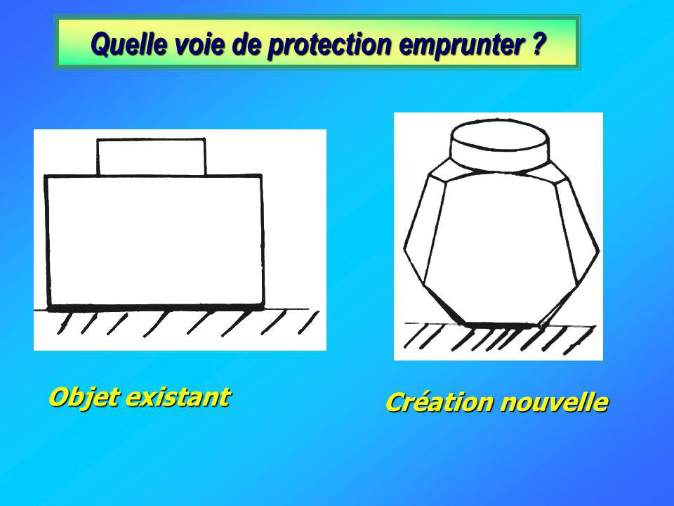 Quelle voie de protection emprunter