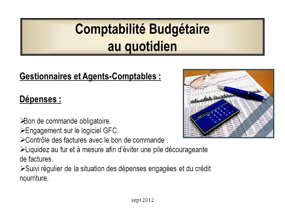 Comptabilité Budgétaire au quotidien