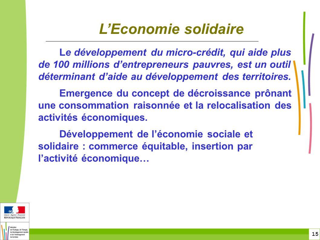Les enjeux et l historique du d veloppement durable ppt - Chambre de l economie sociale et solidaire ...