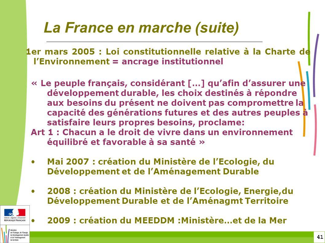 La France en marche (suite)