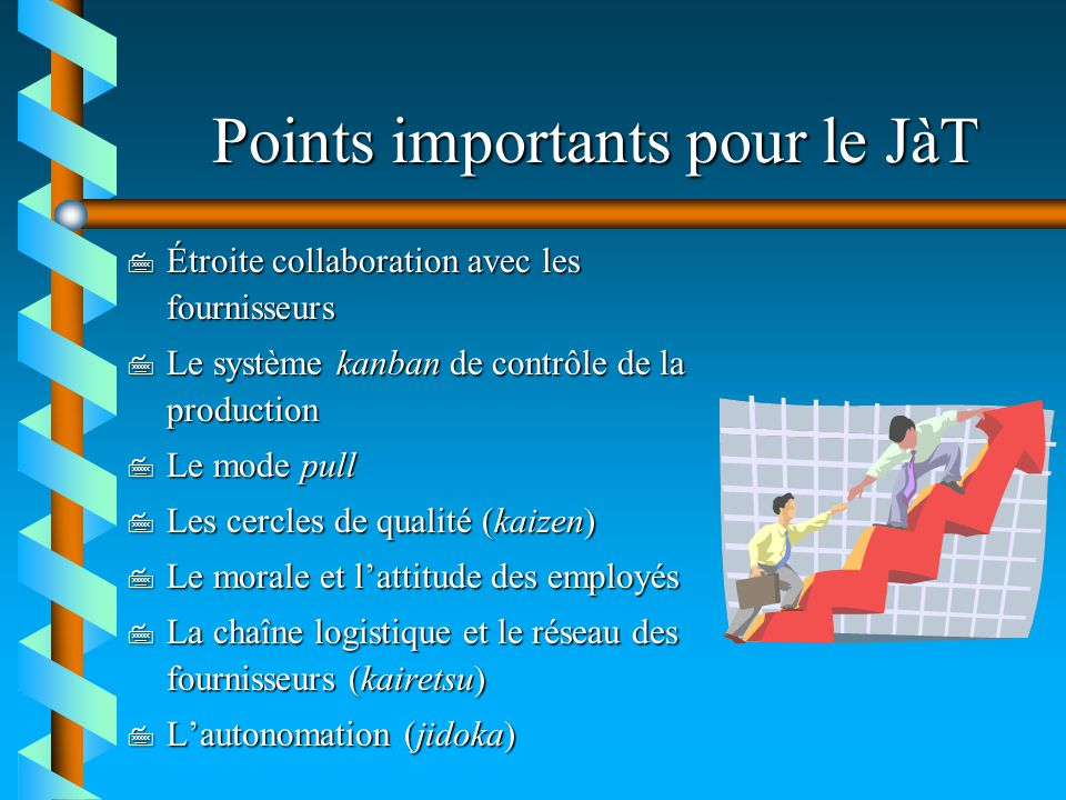 Points importants pour le JàT