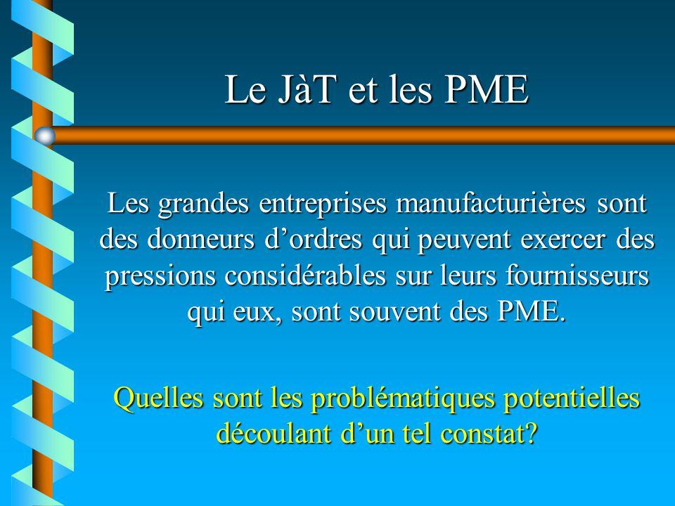 Le JàT et les PME