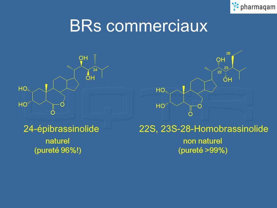 BRs commerciaux 24-épibrassinolide 22S, 23S-28-Homobrassinolide
