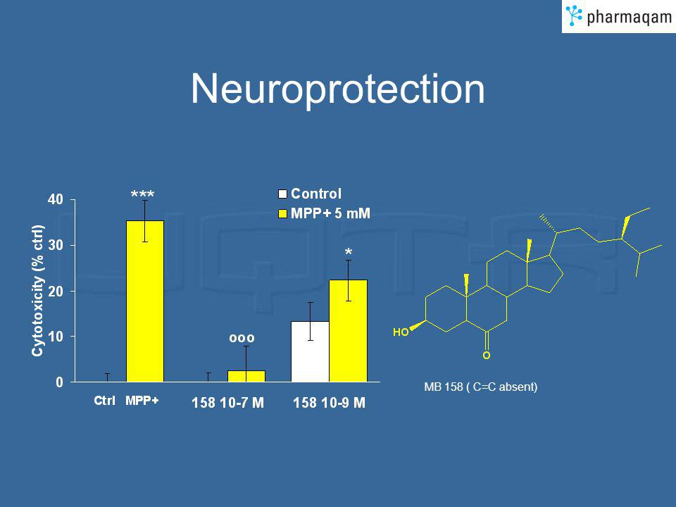 Neuroprotection MB 158 ( C=C absent)