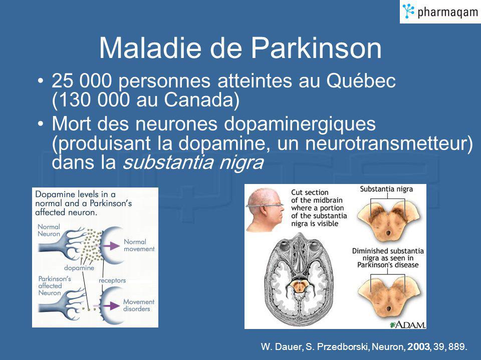 Maladie de Parkinson 25 000 personnes atteintes au Québec (130 000 au Canada)