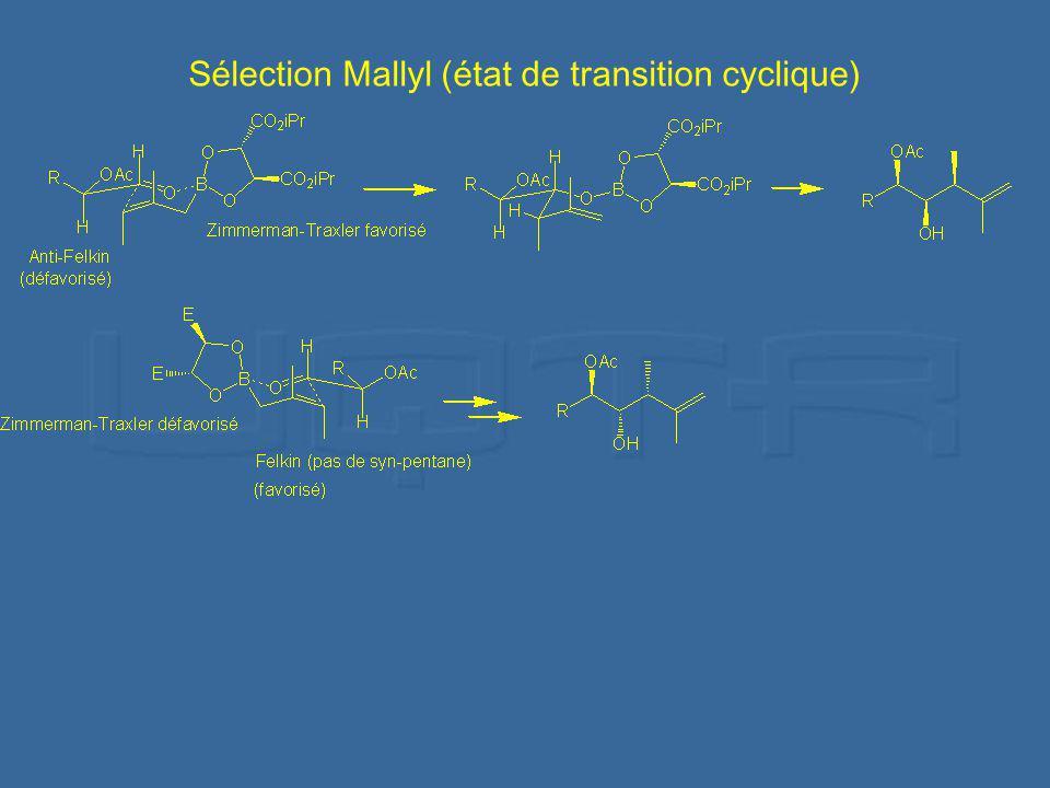 Sélection Mallyl (état de transition cyclique)