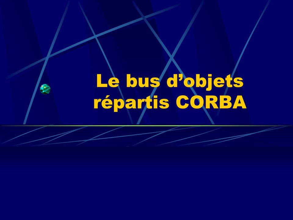 Le bus d'objets répartis CORBA