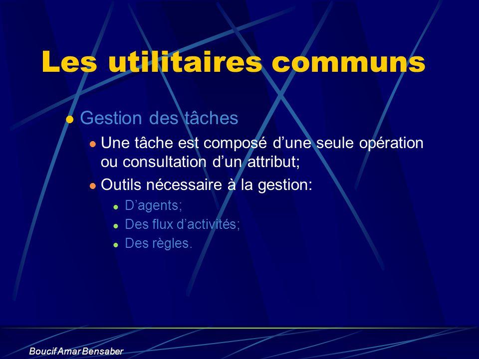 Les utilitaires communs