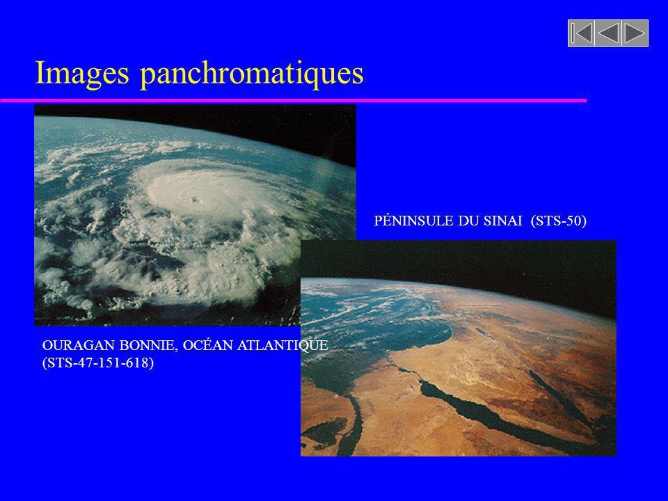 Images panchromatiques