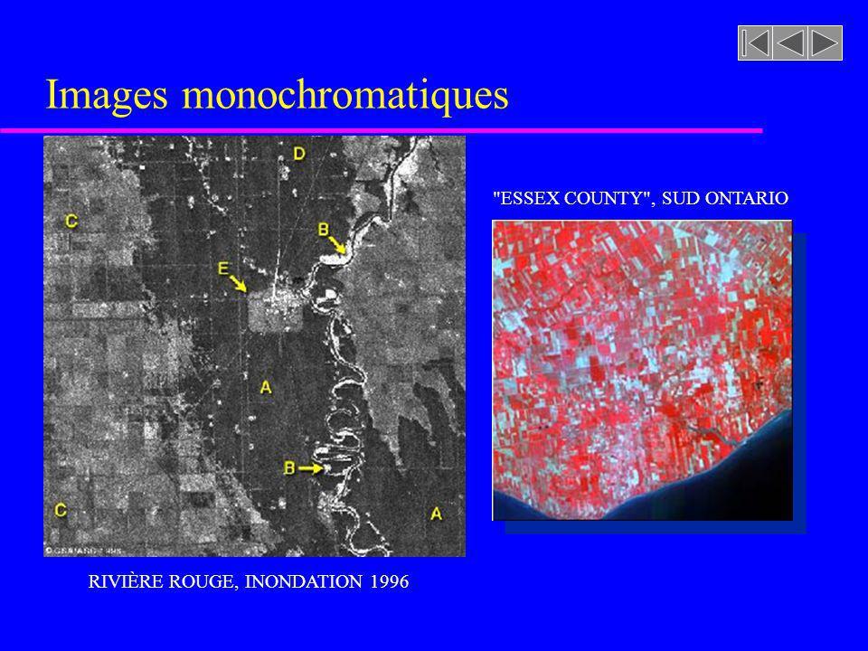Images monochromatiques