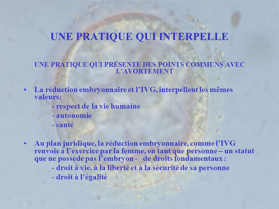 UNE PRATIQUE QUI INTERPELLE
