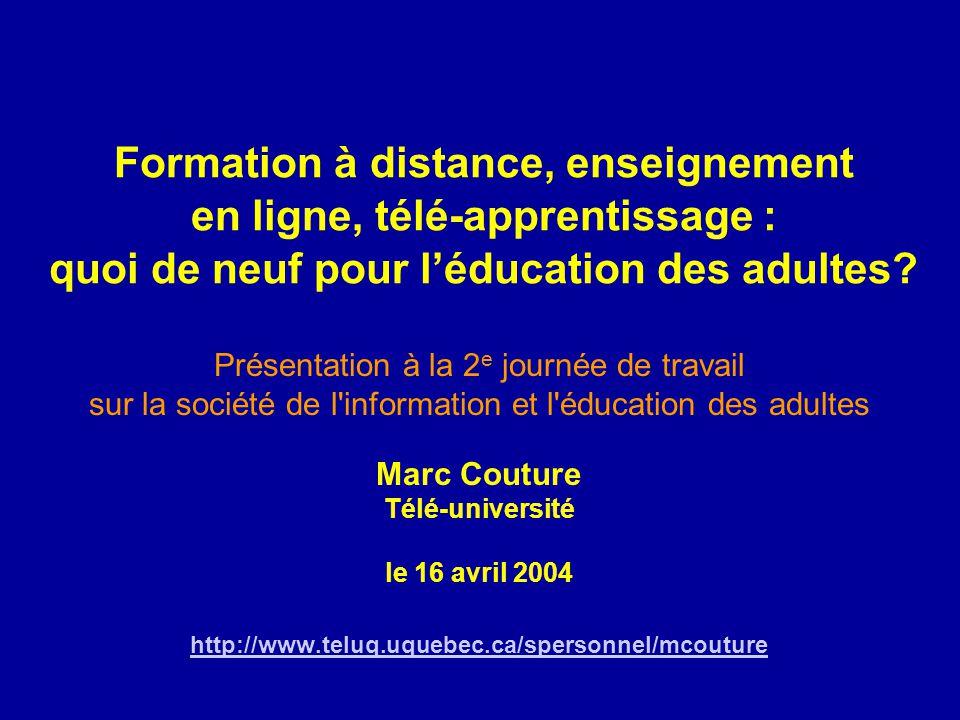 Marc Couture Télé-université