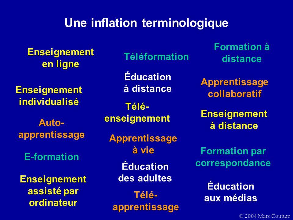 Une inflation terminologique