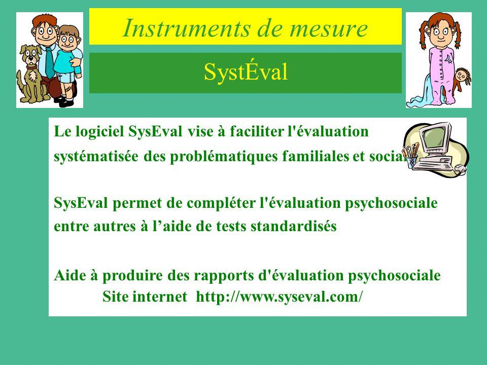 Instruments de mesure SystÉval