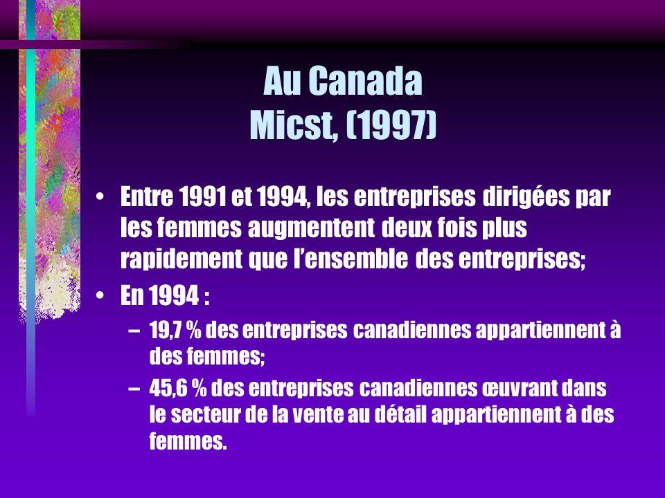 Au Canada Micst, (1997)