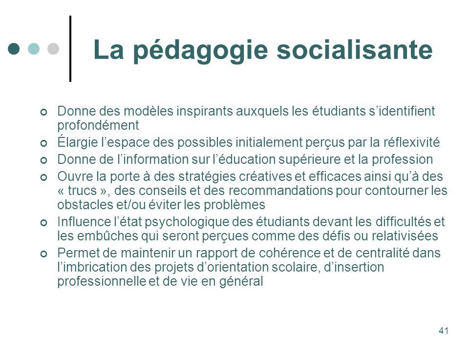 La pédagogie socialisante