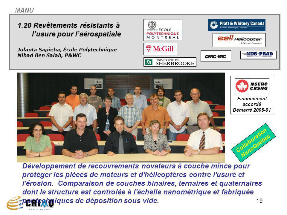 Financement accordé Démarré 2006-01