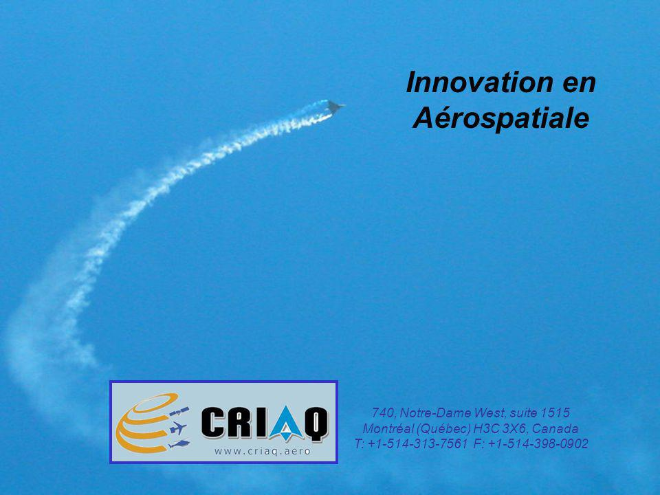 Innovation en Aérospatiale