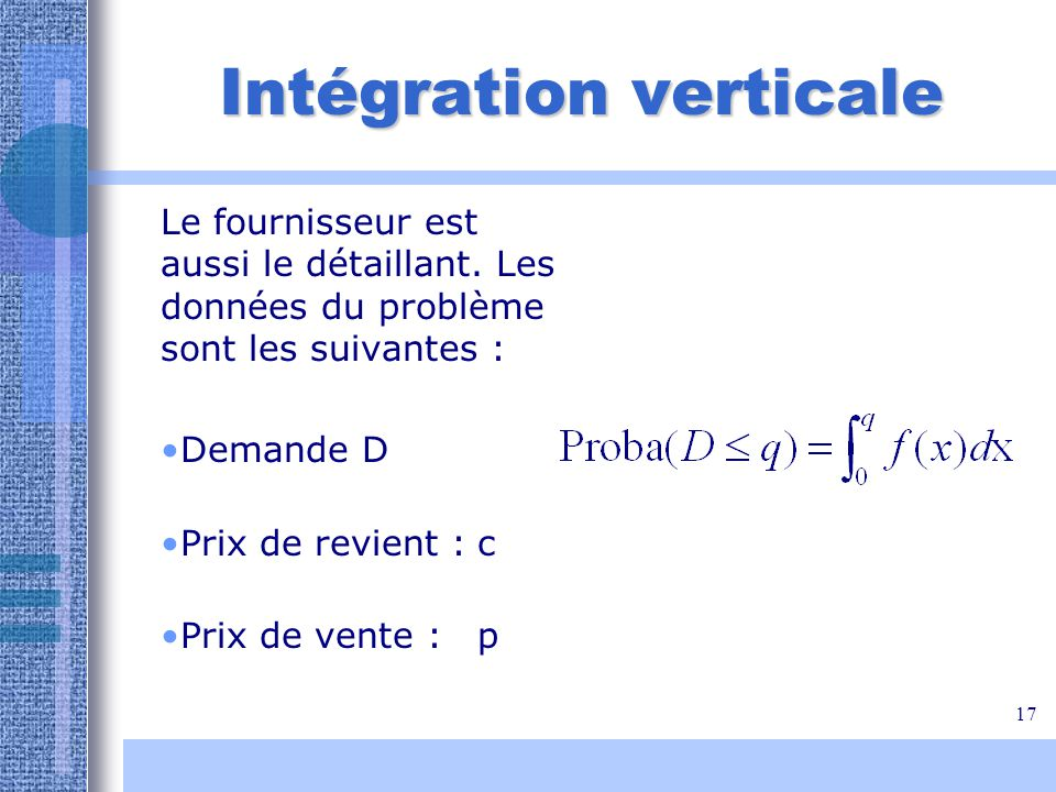 Intégration verticale