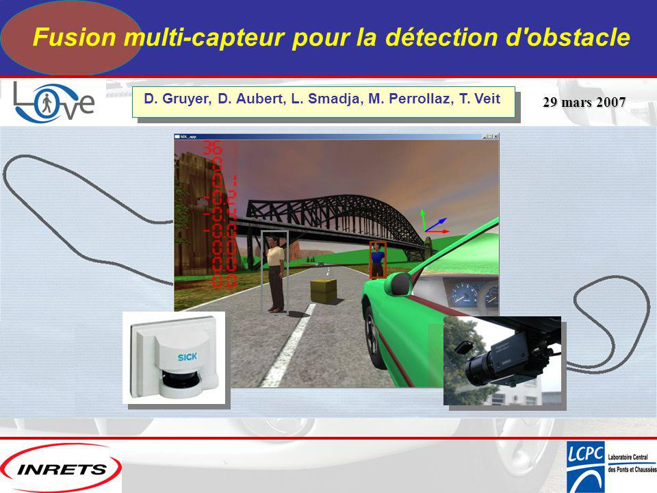 Fusion multi-capteur pour la détection d obstacle