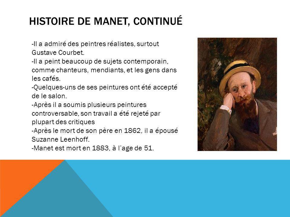 Histoire de manet, Continué