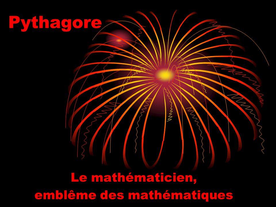 Le mathématicien, emblême des mathématiques