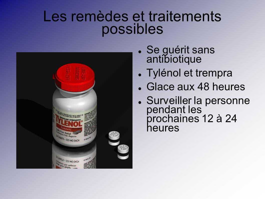 Les remèdes et traitements possibles